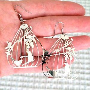 Birdcage Earrings